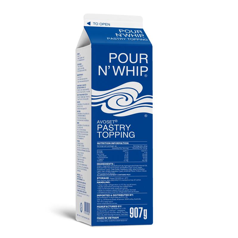 Avoset® Pour'n Whip®