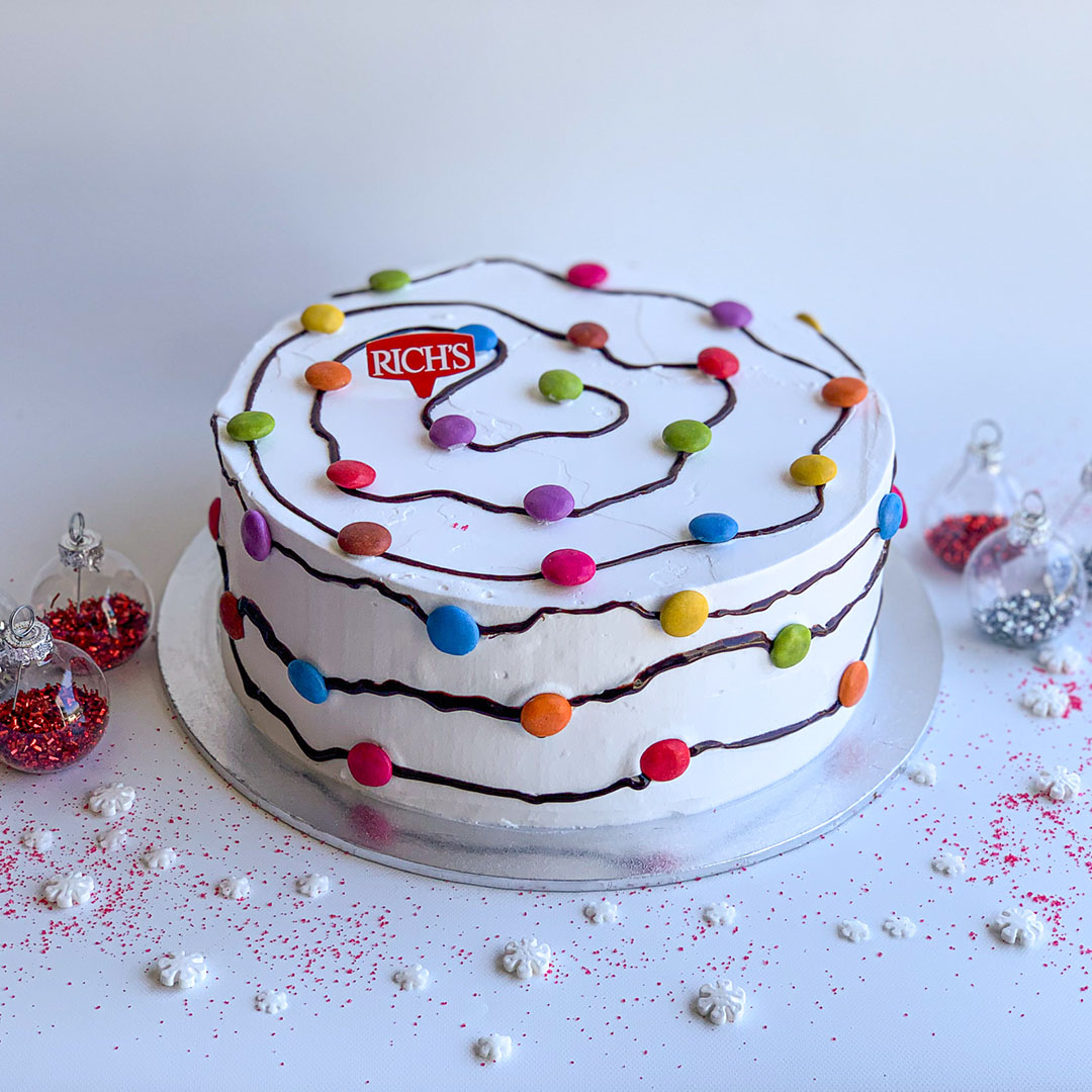 CHRISTMAS LIGHT CAKE
